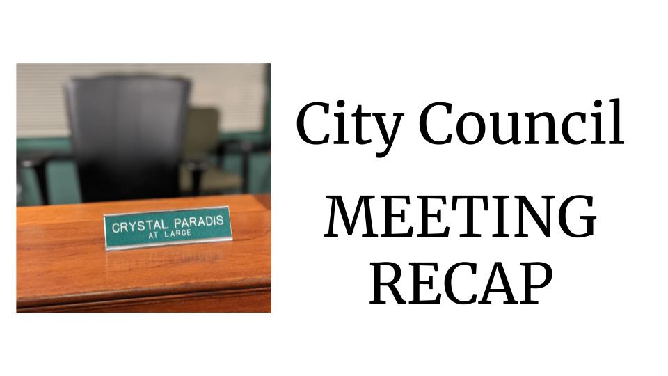 ICYMI: Council Meeting 1/8/20